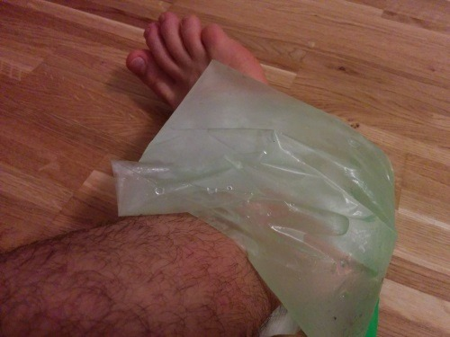 RICE Recovery - Icing an Ankle